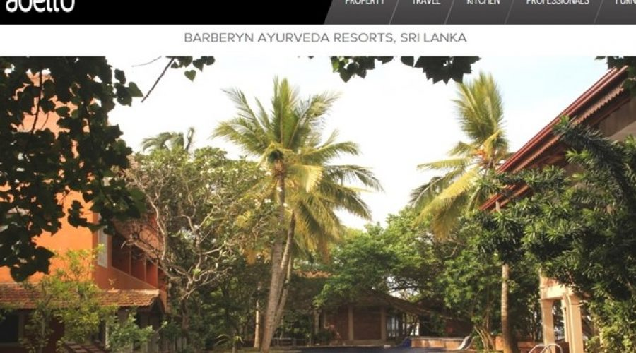 Adelto : Barberyn Ayurveda Resorts, Sri Lanka