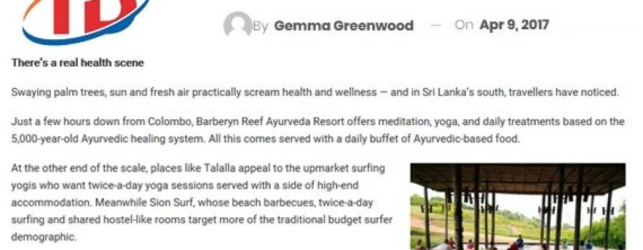 Travel Daily Media: April 2017 Stepping into Sri Lanka's south