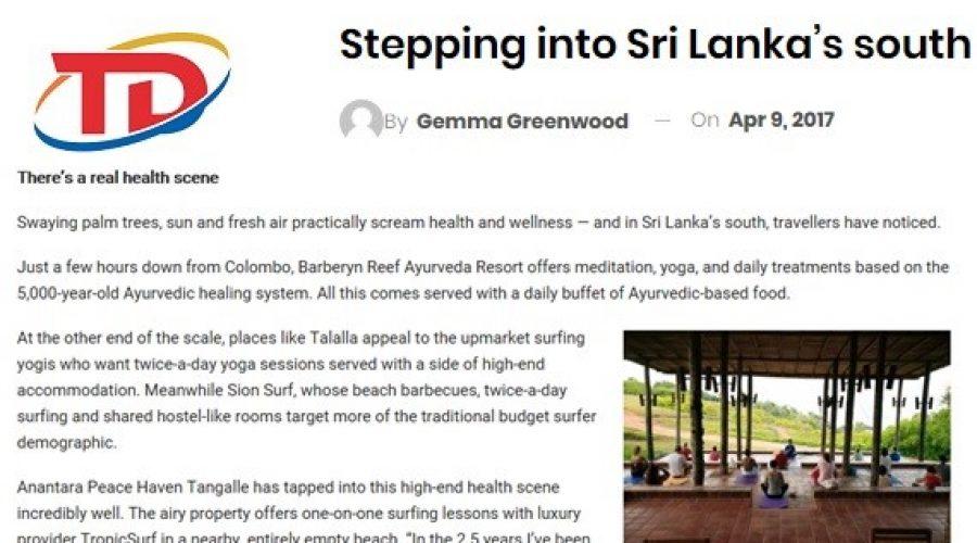 Travel Daily Media: April 2017 Stepping into Sri Lanka's south