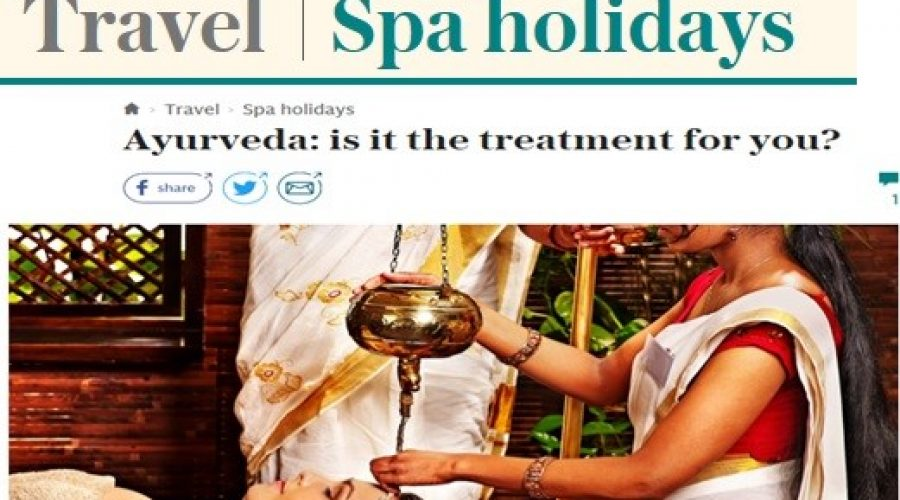 The Telegraph: October 2017 Travel Spa Holidays